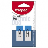 Ластик MAPED Technic Duo 2шт.бл.